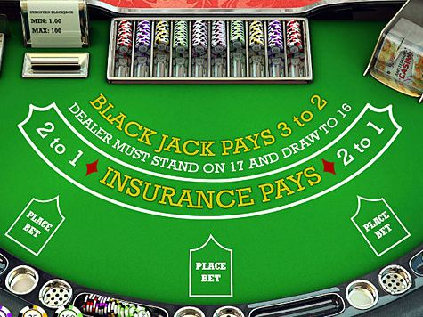 Insurance casino blackjack